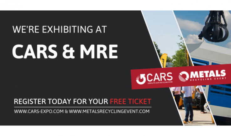 We're exhibiting at CARS & MRE 2021