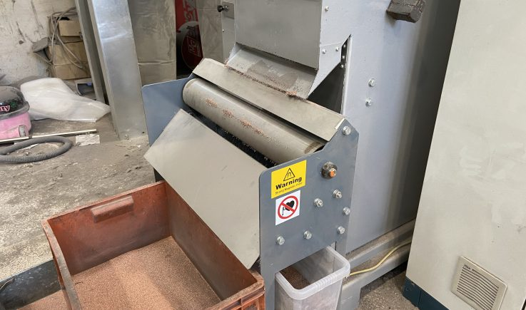 Copper Cleaner removing ferrous from copper