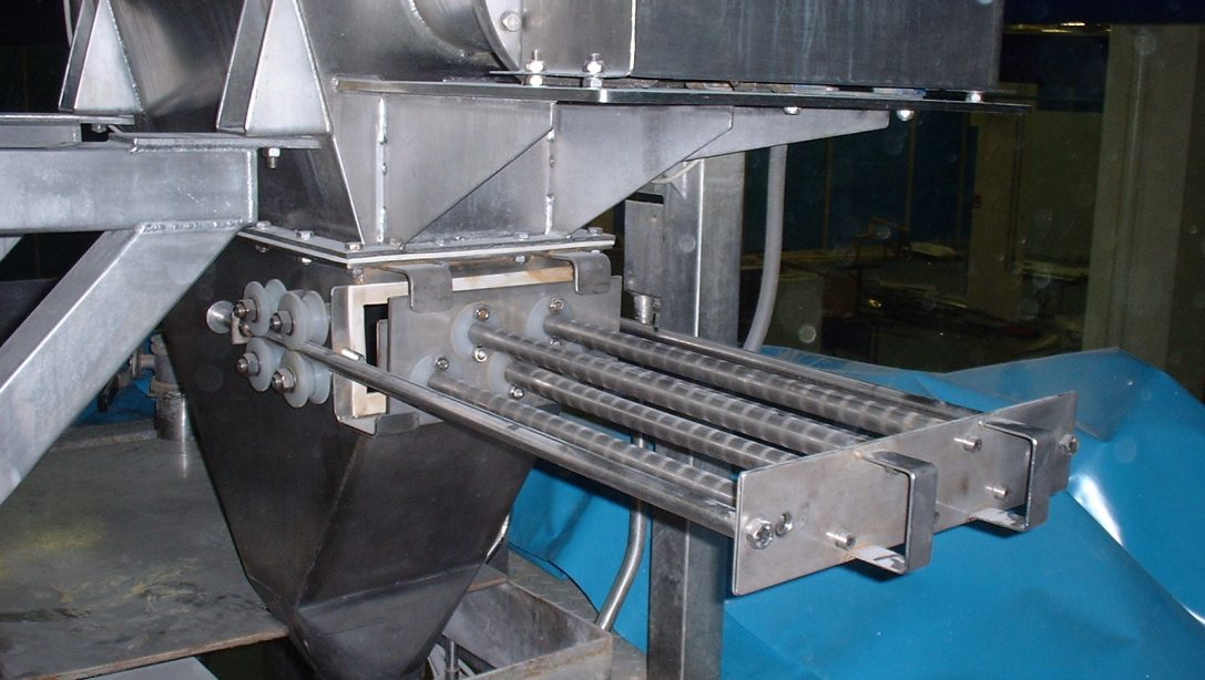 Easy Clean Drawer magnet in food plant