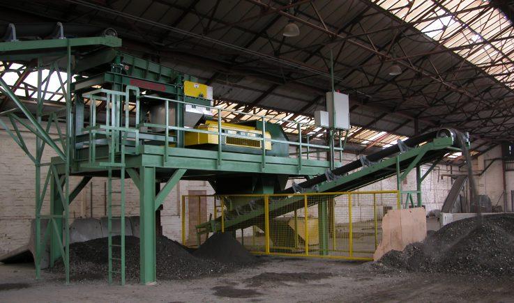 Incinerator Ash Processing Plant