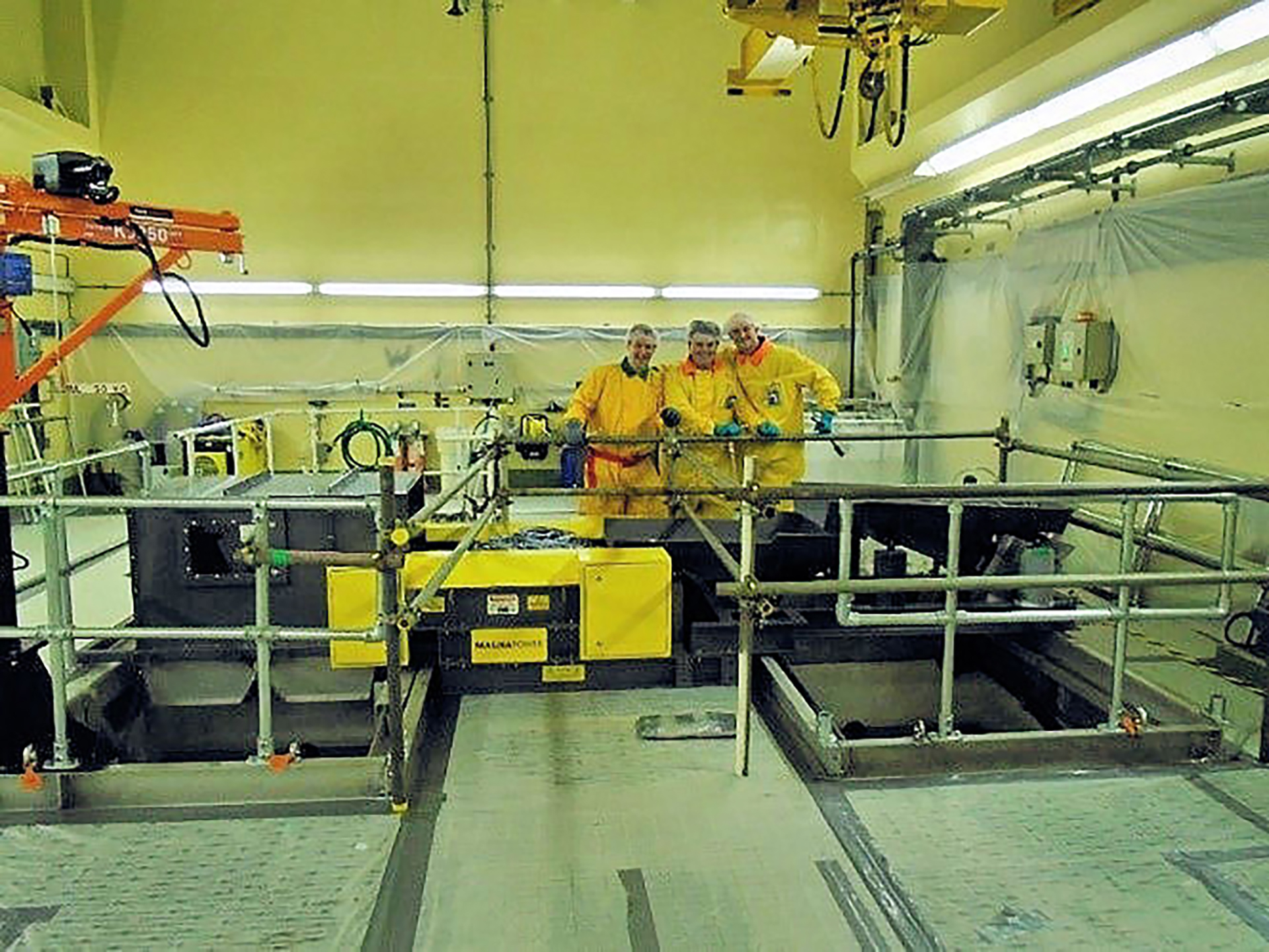 Magnapower ECS in nuclear waste decommissioning plant - Magnapower