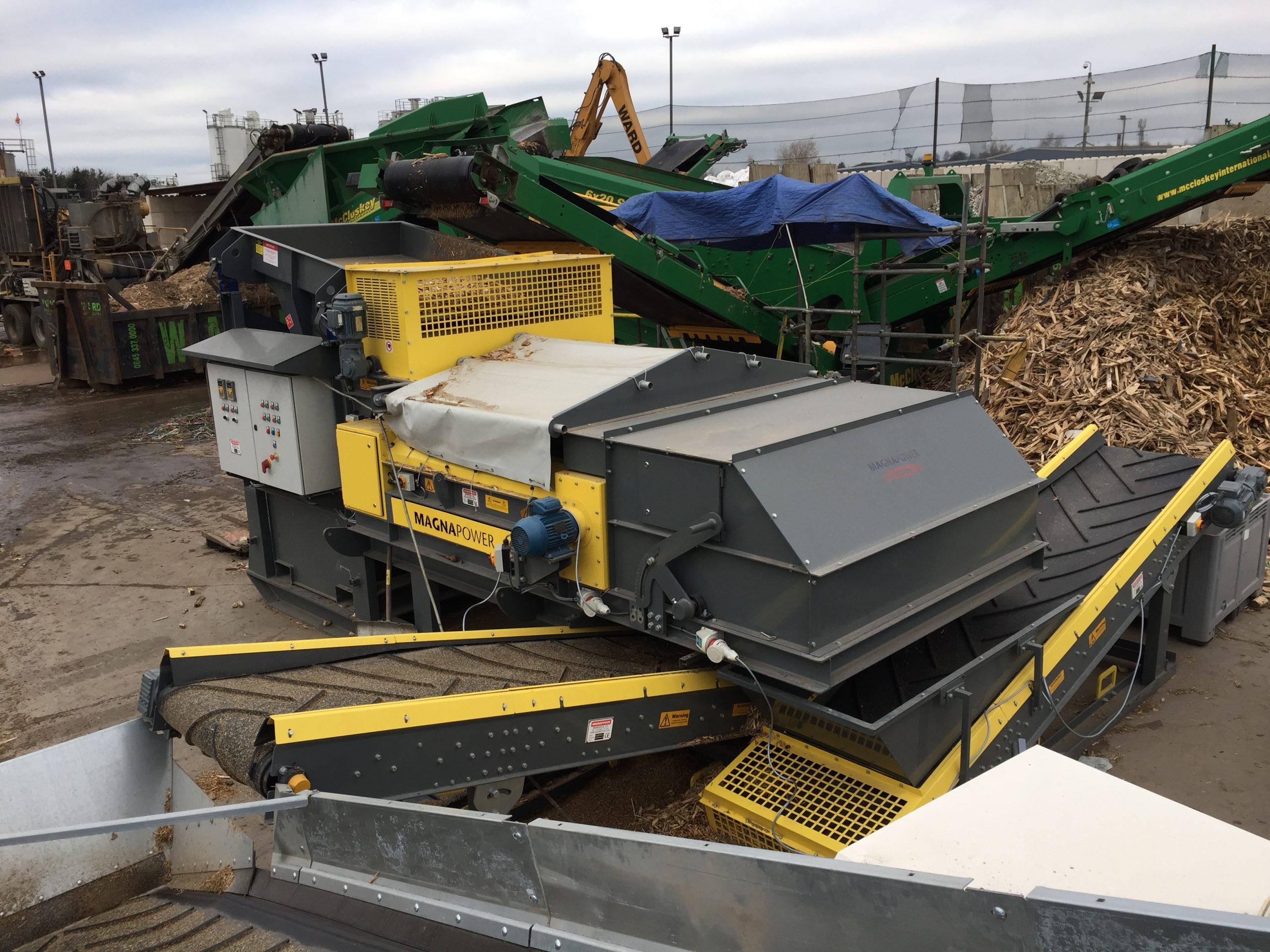 Moble ECS 1500 biomass