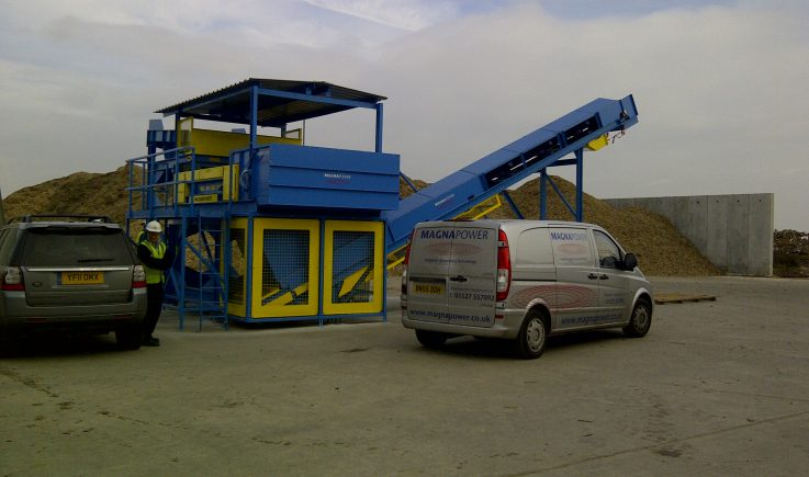Non-ferrous separation plant installed by Magnapower