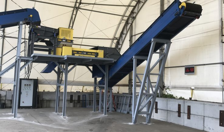 Shredder residue recovery of non-ferrous metals
