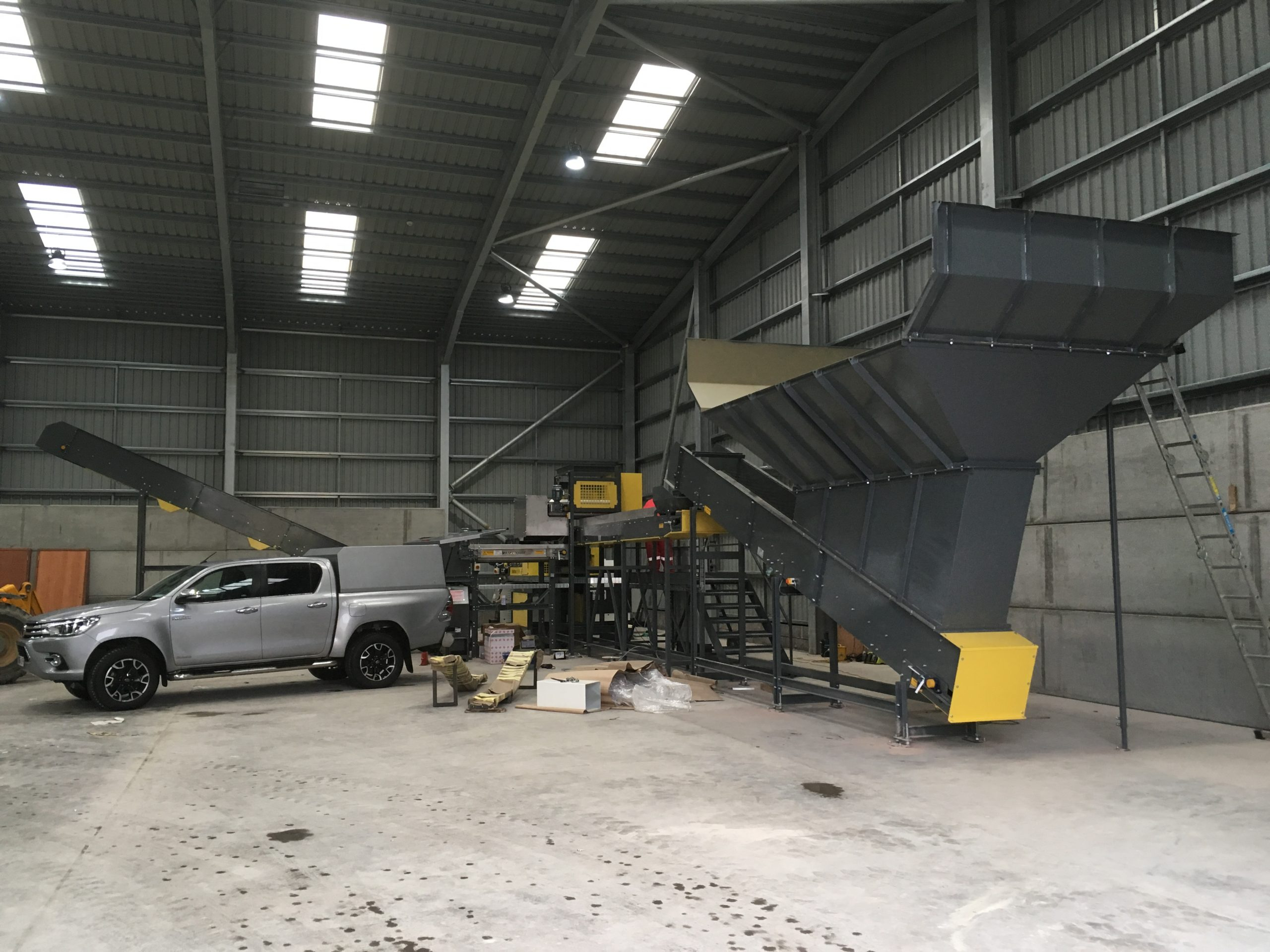 Can Sorting Plant during installation