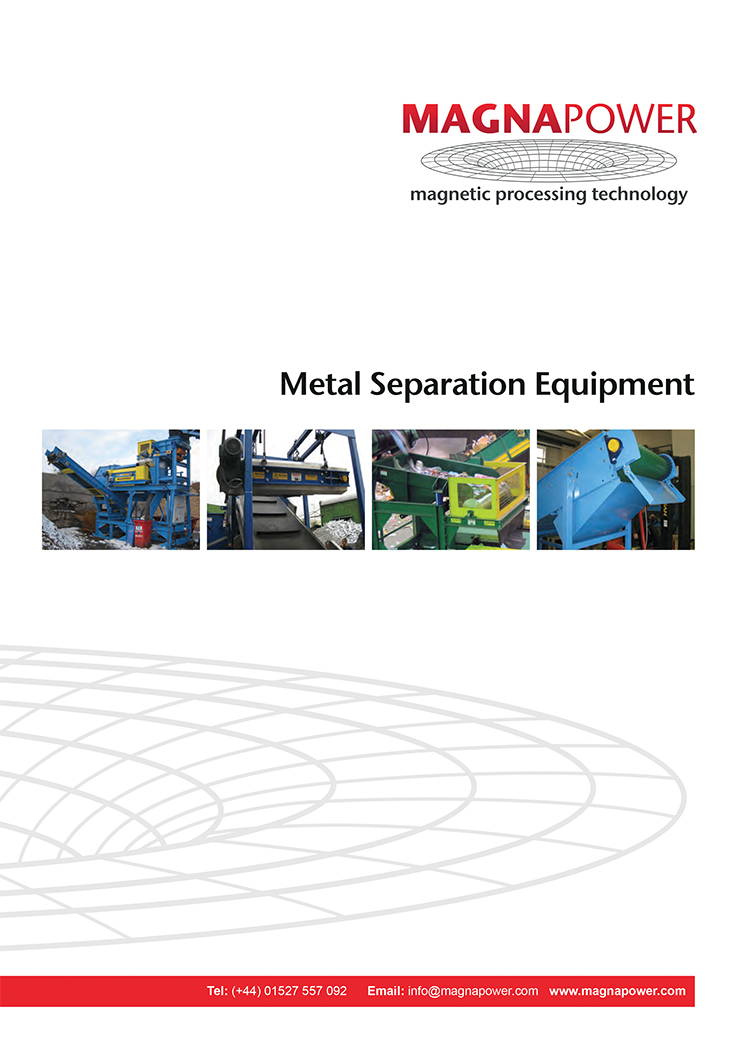 Metal Separation Equipment 2017 Preview