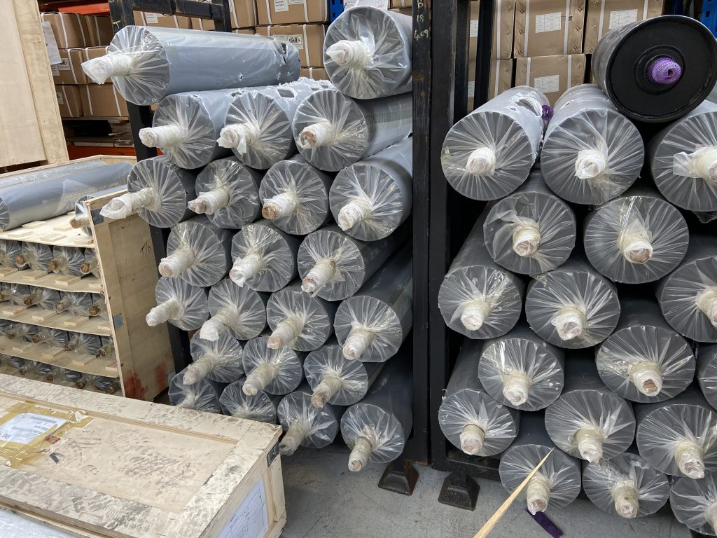 Overband pulleys
