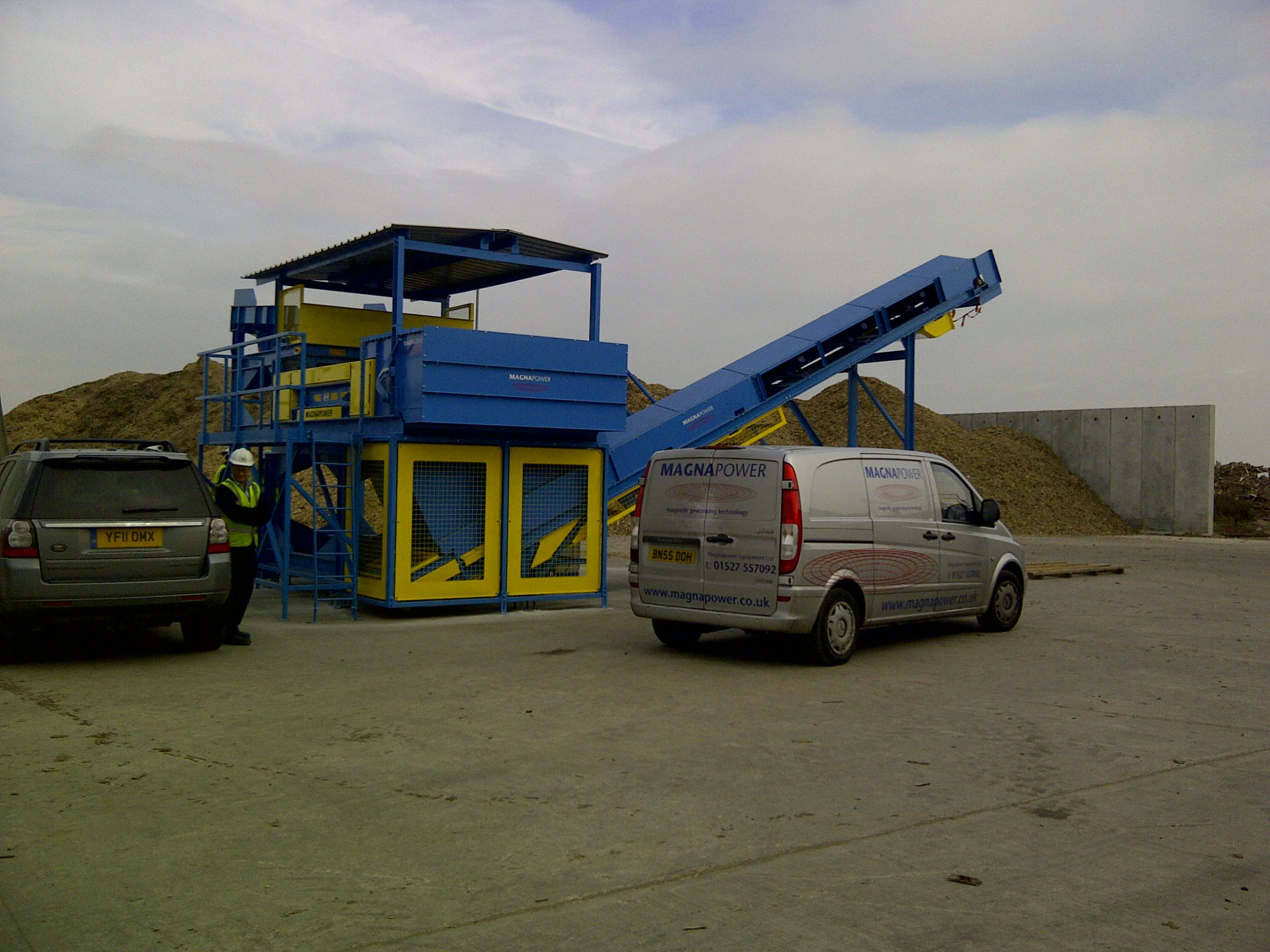 Separation plant installation by Magnapower