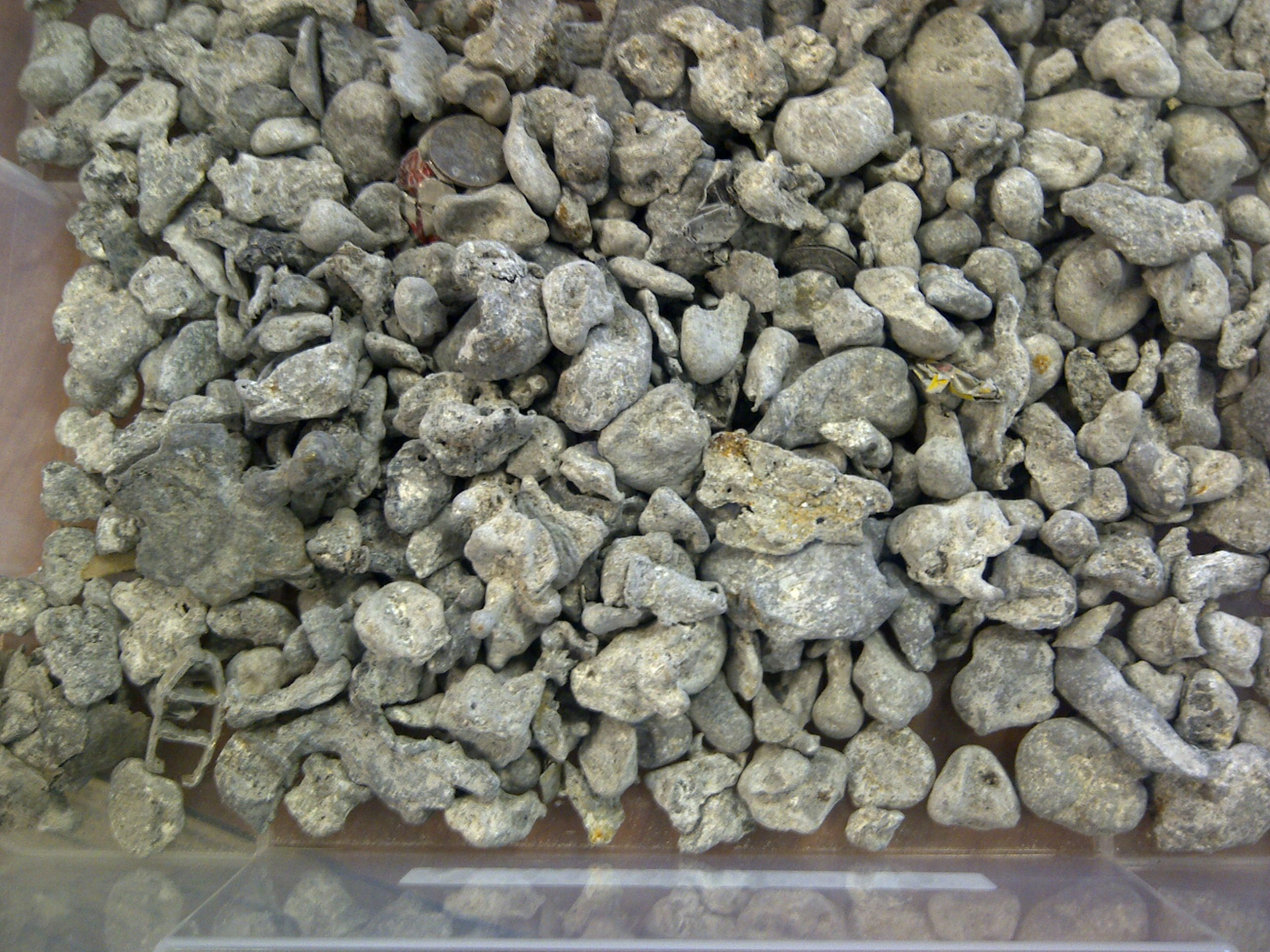 non-ferrous metals from IBA -10mm sorted by Magnapower ECS