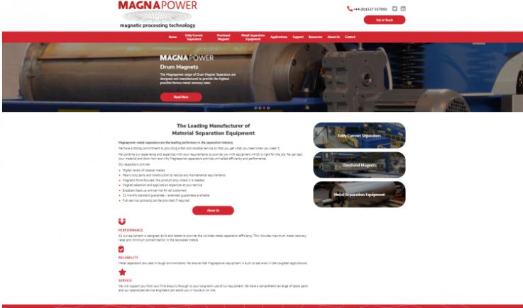 Magnapower International Website